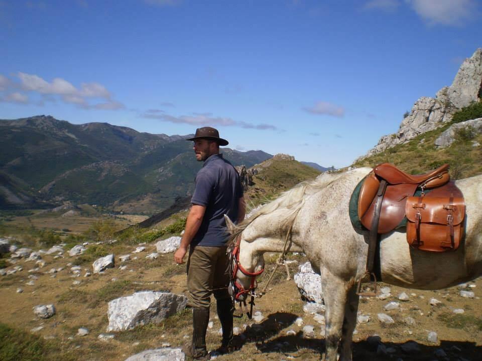 nuestro guía Caye con Bruma